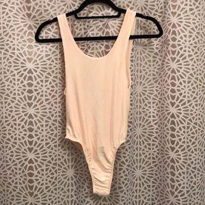 Blush / light pink bodysuit